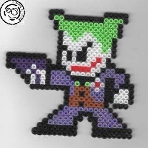 Joker Batman Marvel Bead sprite perler pixel art Perles a repasser