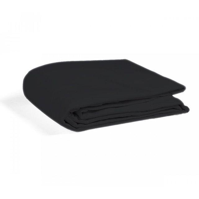 SOMEO Housse de Couette Enfant 100% Coton Noir 80×120