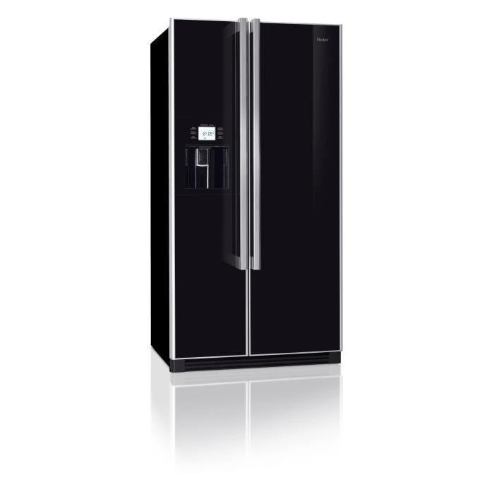 HAIER HRF663CJB Réfrigérateur américain Achat / Vente