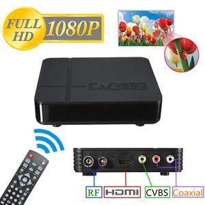 HD DVB T2 MPEG4 PVR TV Décodeur Boite WiFi Numérique Récepteur