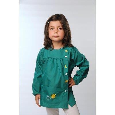 tablier ecole arc en ciel vert Achat / Vente chemisier blouse