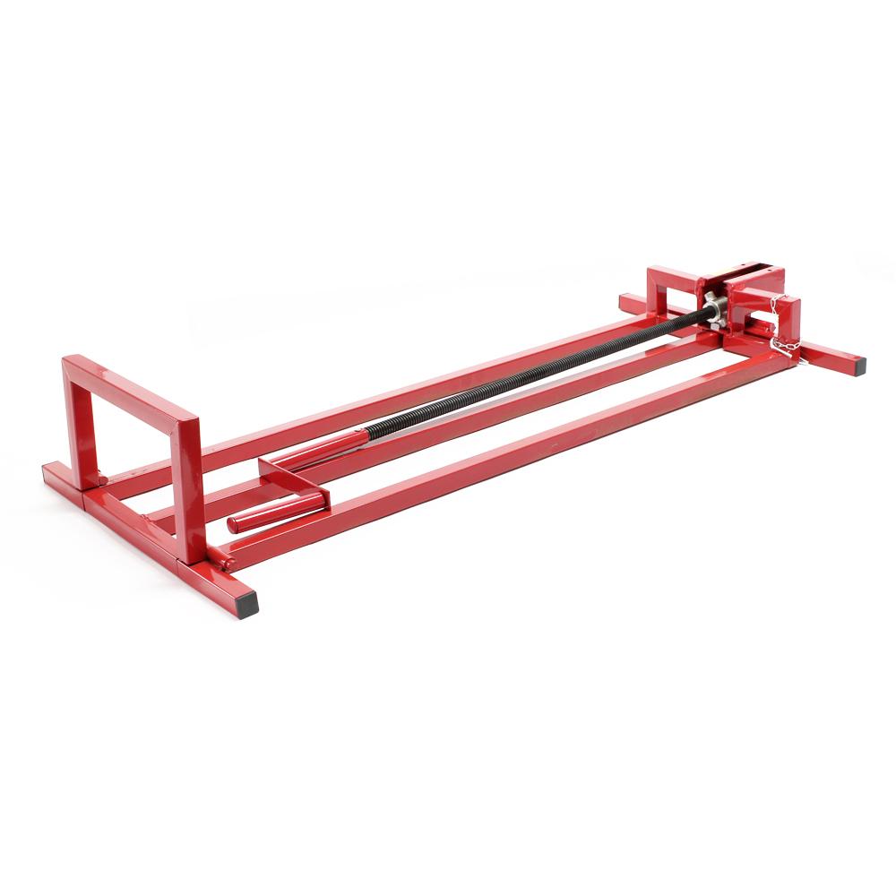 Cric lève tracteur tondeuse 115x50x20cm max.250kg, réglable en
