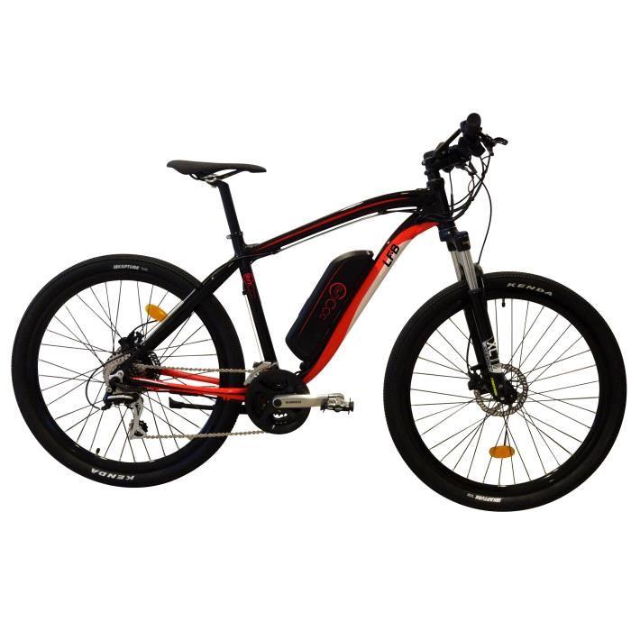 LFB Vélo Electrique VTT 27,5 21 vitesses shimano freins disque