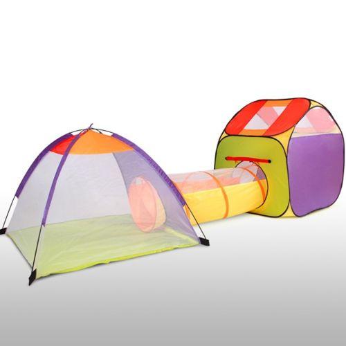 Infantastic Tente de jeu pour enfants avec tunnel KDZT03 pas cher
