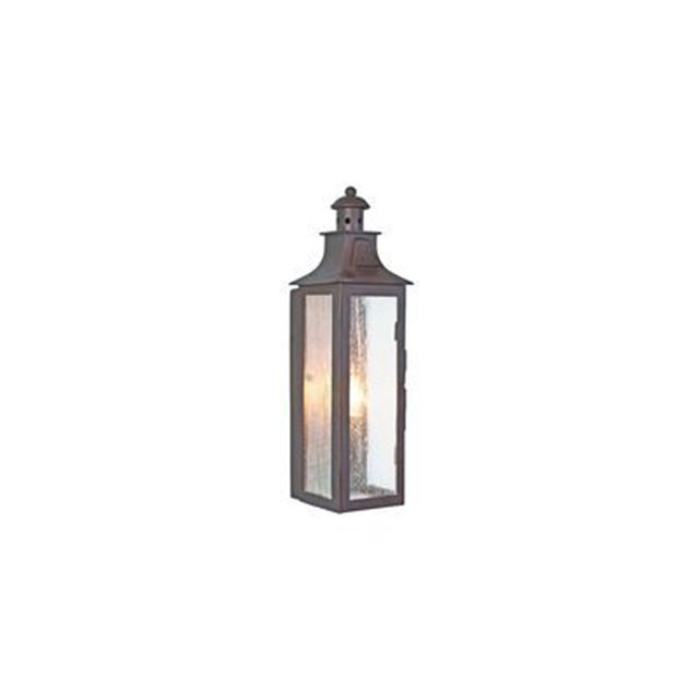 Applique murale stow 1x60w bronze foncé elstead lighting stow
