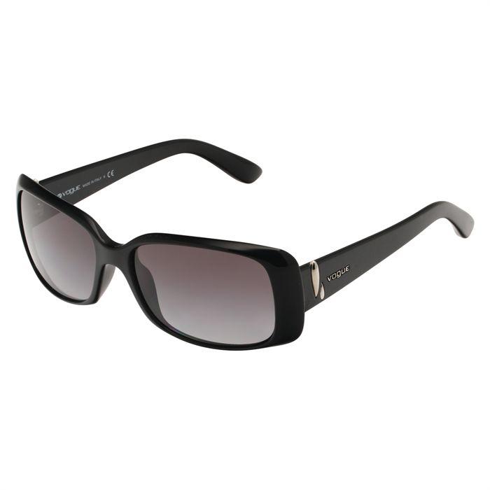 VOGUE Lunettes de soleil Femme Noir Achat / Vente lunettes de soleil