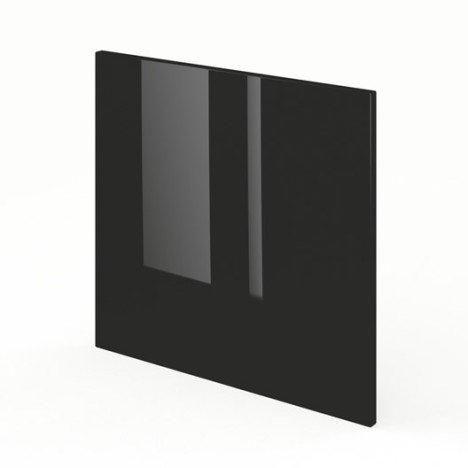 Porte pour lave vaisselle intégrable de cuisine noir FDSH60 Rio, L60