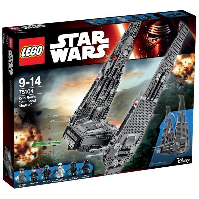 LEGO Star Wars 75104 Kylo Ren?s Command Shuttle Achat / Vente