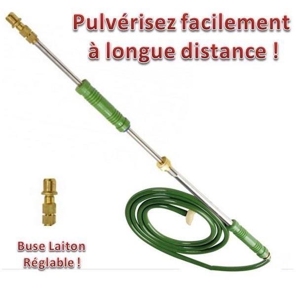 Lance de pulverisation avec pompe a main topiwall - Lance pour pulverisateur ...