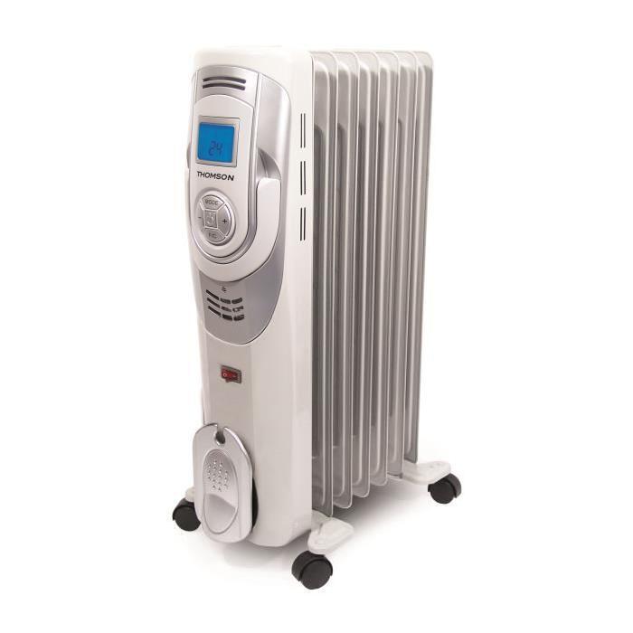 Radiateur Electrique bain d'huile 1500 W3 Puissances de