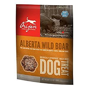 Orijen Treats Wild Boar, friandises naturelles à la viande de sa 56