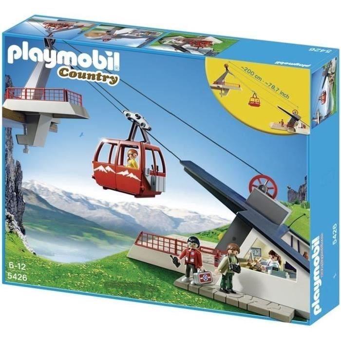 PLAYMOBIL 5426 Téléphérique Achat / Vente univers miniature