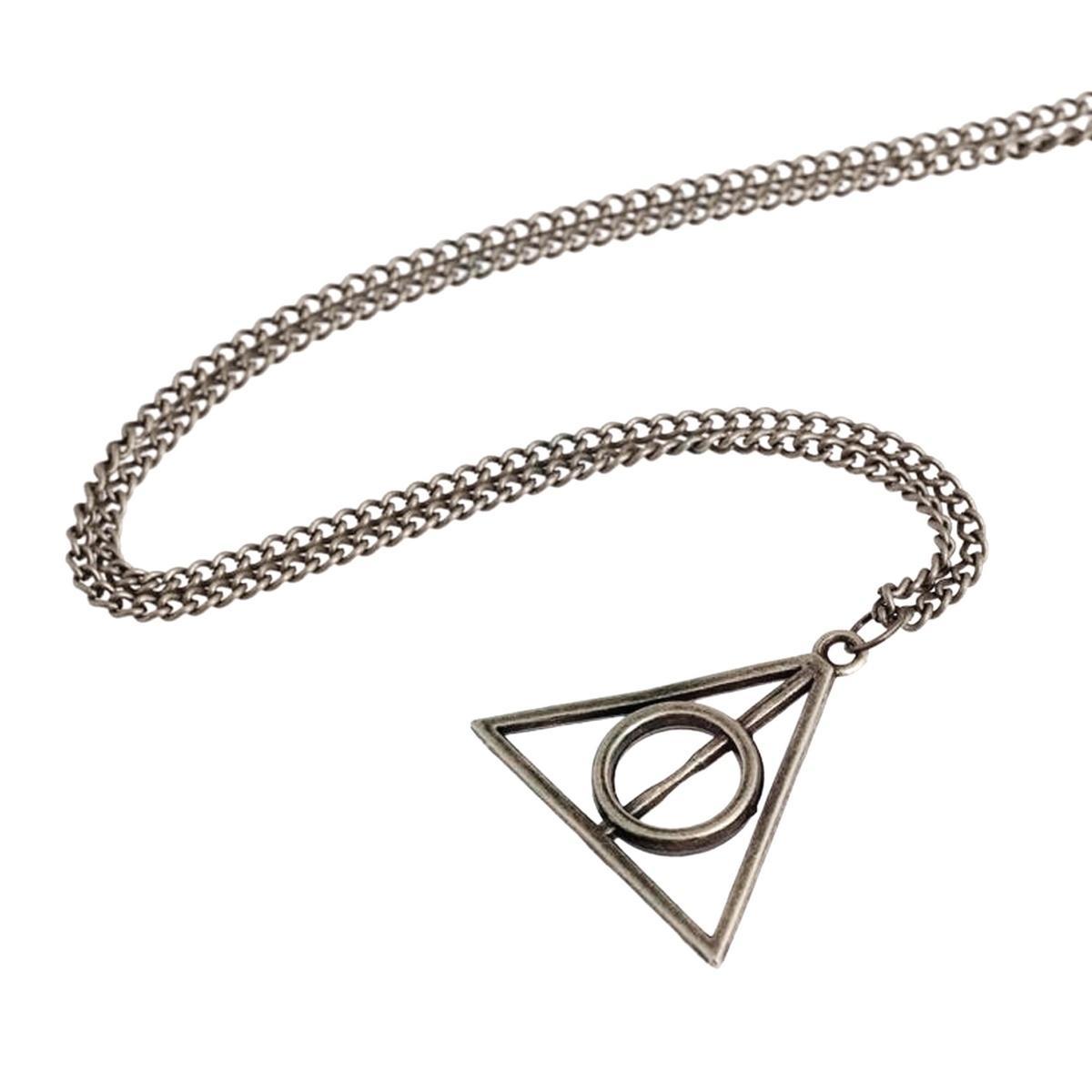 Pendentif Collier Harry Potter Les Reliques De La Mort