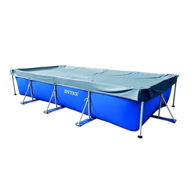 INTEX Bâche pour piscine tubulaire rectangulaire Intex 4.50 x 2.20