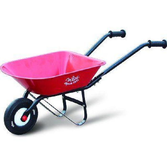 Brouette en métal Rouge Achat / Vente jardinage Brouette en
