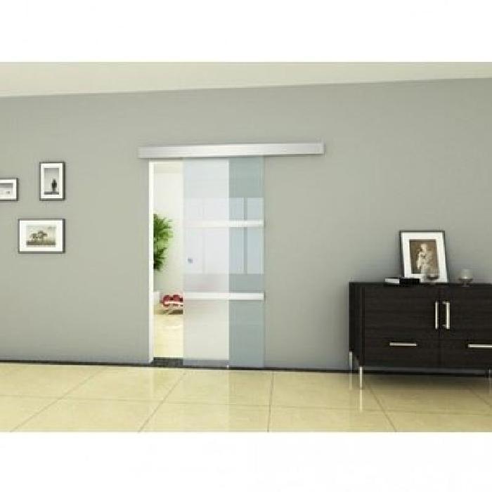 Porte coulissante vitree 205 x 75 cm Achat / Vente porte coulissante