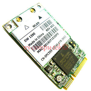 DW1390 Mini PCI express Wireless WLAN Wifi Card 802.11 For DELL