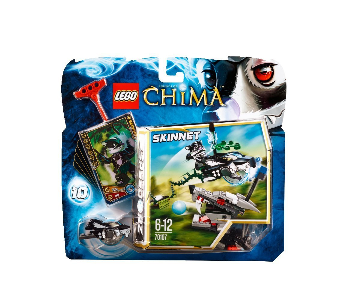 Lego Legends of Chima Speedorz Skunk Attack 70107