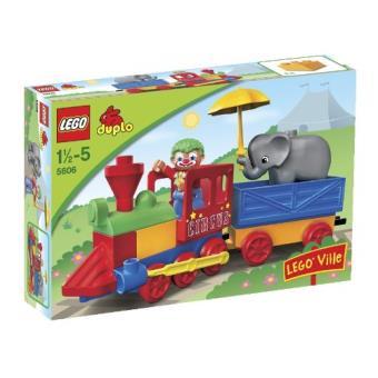 LEGO® DUPLO® 5606 Le train du cirque Lego Achat & prix | fnac