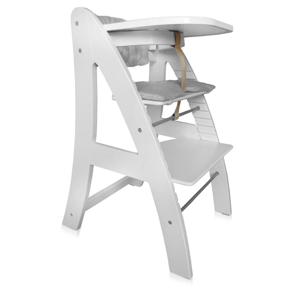 Bébé Enfant Chaise haute Chaise haute avec escaliers et ceinture de