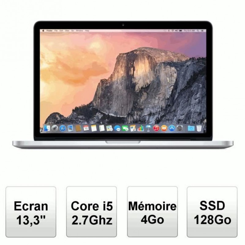 Apple Ordinateur Portable MacBook Pro 13,3″ Rétina