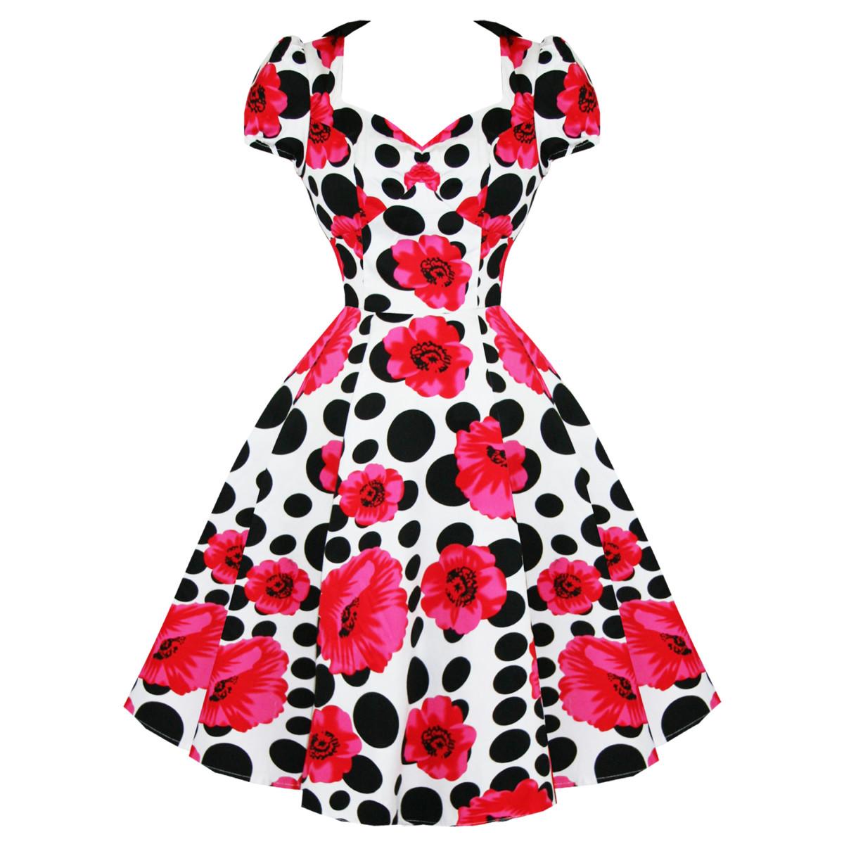 Vintage Année 50 dedans robe annee 50 - topiwall