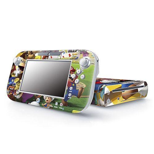 Film Vinyle Sticker Console Nintendo Wii U /34 Super Mario Wii U