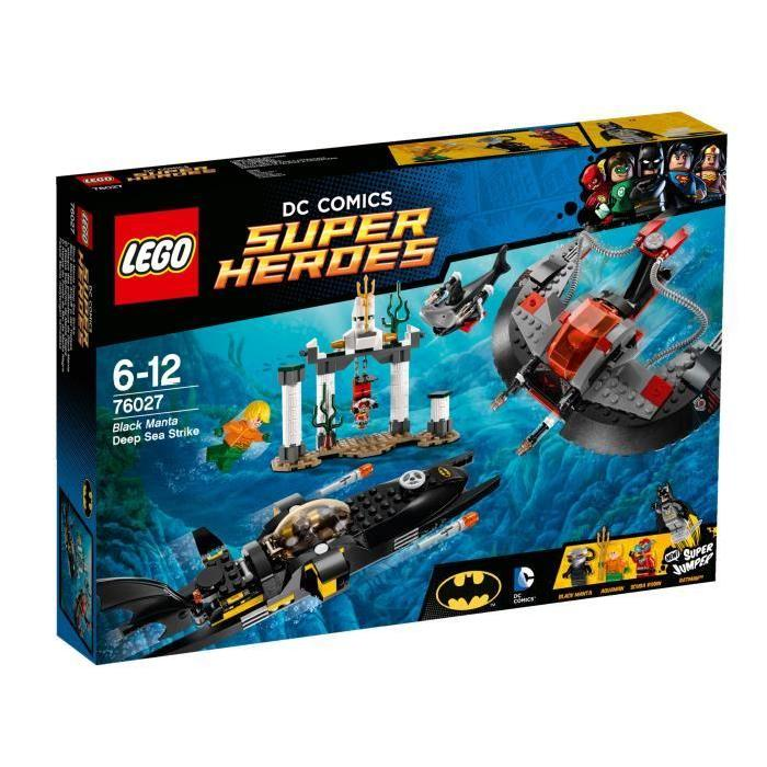 LEGO® Super Heroes Batman 76027 L'Attaque de Black Manta? Achat