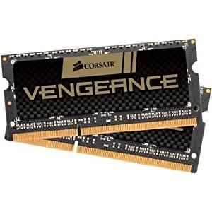 Mémoire portable Vengeance 2 x 8 Go DDR3 1600 PC3 12800 CL10