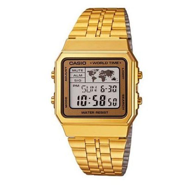 Montre casio vintage dorée a500wega 9ef a500wega 9ef Casio | La