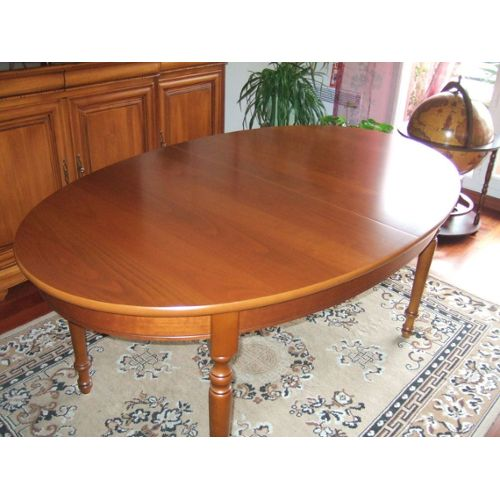 Table ovale a rallonge topiwall for Table ovale pas cher