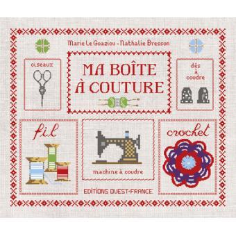 Ma boite à couture Boites et Accessoires Nathalie Bresson, Marie