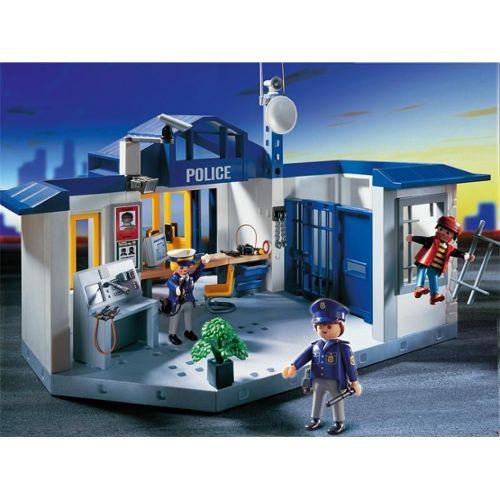 Playmobil 4263 Quartier De Police Neuf et d'occasion