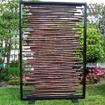 Kyoto bambou brun encadre Achat / Vente paravent