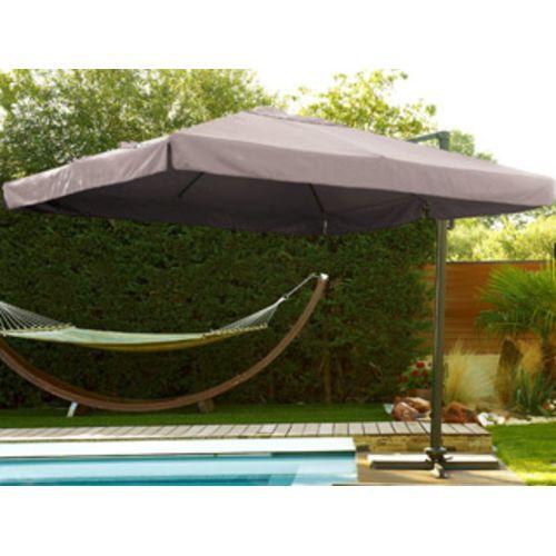 Dcb Groupe Pool Zen Spa Parasol déporté aluminium carré à
