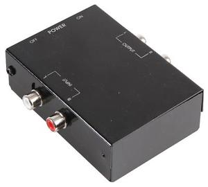 Preampli phono stereo tourne disque RCA pre amplificateur a niveau
