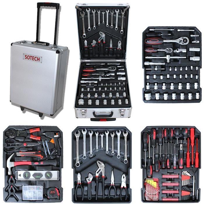 mallette a outils sotech 251 outils sur 4 com