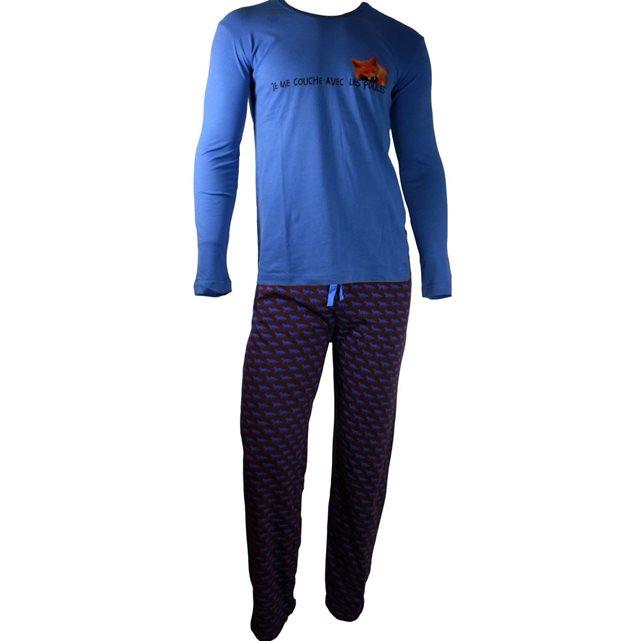 pyjama homme chocolat arthur multicolore sous vêtement s arthur