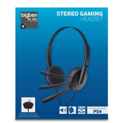 Casque Gamer Sony Casque PS4 Stéréo sans fil 2.0 noir