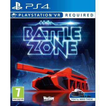 Battlezone PS4 VR sur Playstation 4 Jeux vidéo Achat & prix Fnac