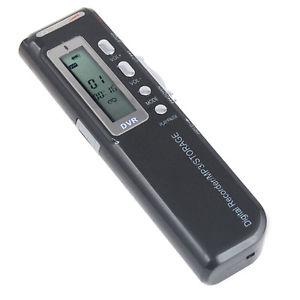 HQ Numérique Dictaphone Enregistreur Vocal 4GB Record