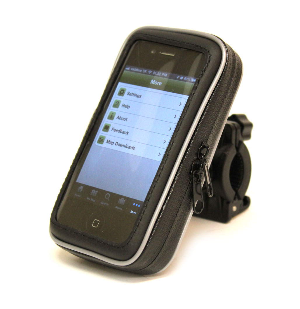 Housse étui avec support vélo intégré pour GPS vélo Mio Cyclo 505