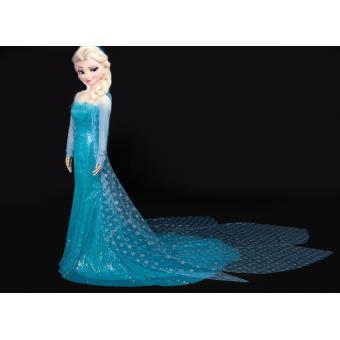 Deguisement la reine des neiges topiwall - Robe elsa reine des neiges ...