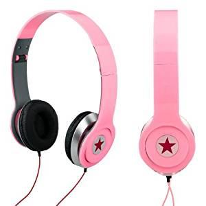 Ecloud Shop Casque Ecouteur Plible Stéréo pour DJ PSP MP3 MP4 PC