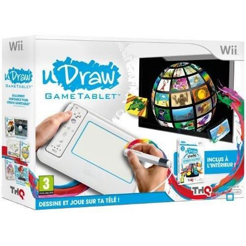 TABLETTE UDRAW + UDRAW 2 / Jeu console Wii Achat / Vente pack
