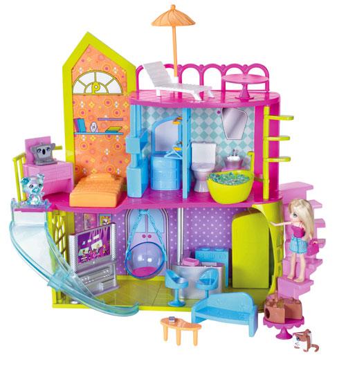 Mattel Polly Pocket Villa surprise de Polly Univers Miniature