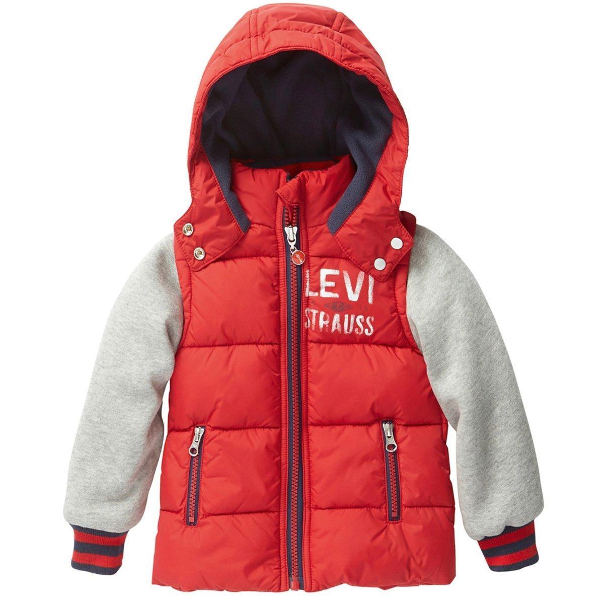 Manteau à capuche, esprit doudoune, doublé polaire Levi's | La