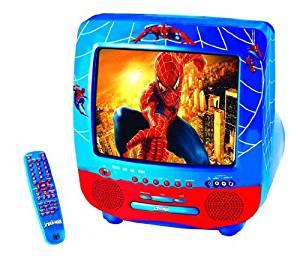 électronique Combi TV DVD Spiderman: Jeux et Jouets