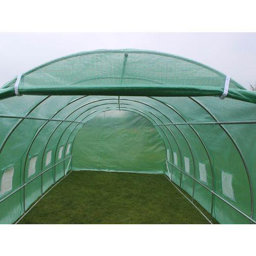 Serre tunnel de jardin galvanise 3 x 6 m topiwall - Serre de jardin tunnel x m galvanise ...