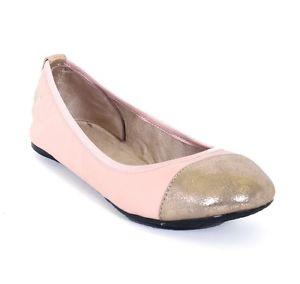 Twists Kate Dusty Rose Or Paire de Ballerines pliables eur 36 UK 3